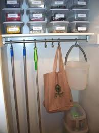 closet curtain rod install a and put shower hooks on it to organize how angled wall how to hang a closet rod
