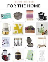 Holiday Gift Guide 2014 Gifts For The Home  Nicole Gibbons StyleGifts For Home Decor