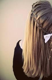 Hairstyle Waterfall waterfall braid hairstyles weekly 1911 by stevesalt.us