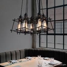 modern pendant lighting. Modern Pendant Lamps American Industrial Retro Hanging Lights Fixture Black Metal Cafes Lamp Home Indoor Lighting Vintage Droplight