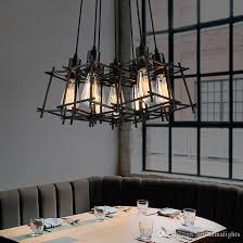 modern pendant lamps american industrial retro hanging pendant lights fixture black metal cafes lamp home indoor lighting vintage droplight pendant lights