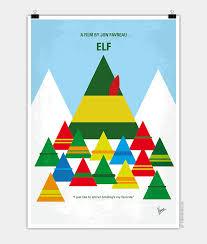 elf movie poster.  Movie No699 My ELF Minimal Movie Poster Throughout Elf Movie Poster