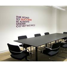 Office deco Beautiful Office Deco Transfer The Road To Success Wall Decal Wayfair Paperflow Office Deco Wayfair