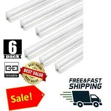 T5 Shop Lights Led Shop Light 4 Ft T5 Linkable 6500k Utility Garage 4