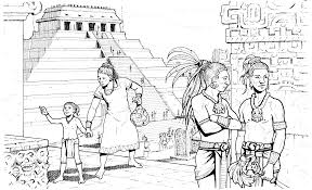 Small Picture Mayan Coloring Book Coloring Coloring Pages