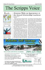 April 27 2011 by The Scripps Voice issuu