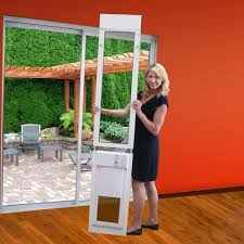electronic dog doors. Sliding Glass Pet Door High Quality Aluminum Tempered Glass; Power Electronic Dog Doors I