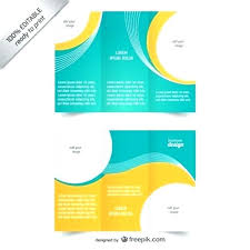 Free Brochure Layouts Sample Pamphlet Templates Pamphlet Templates Sample Brochure