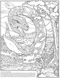 Pin By Gena Andreano On Dover Coloring Monster Coloring Pages