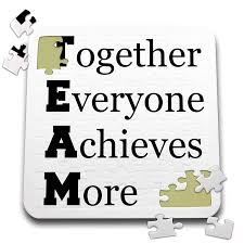 3drose Xander Inspirational Quotes Team Together Everyone Achieves More 10x10 Inch Puzzle Pzl2164212