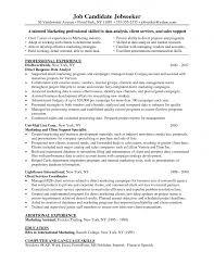 Sample Resume Vector Marketing 100 Original