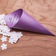 Paper Cones For Flower Petals Personalized Paper Petal Cones 5 Pcs Decorations And Supplies