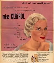 the 30s was the era of blondes of hollywood curls and all women wanted to copy however this time the hair dyes have not been very good and many women