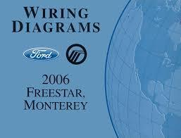 amazon com bishko automotive literature 2006 ford star mercury amazon com bishko automotive literature 2006 ford star mercury monterey wiring diagrams schematics book automotive