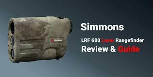 simmons 4x20 laser rangefinder. simmons lrf 600 laser rangefinder review 4x20