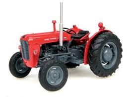 Massey Freguson Colours Tractor Garden Machinery