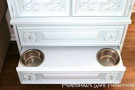 dog storage furniture. Dog Food Storage Armoire, Painted Furniture, Pets Animals, Repurposing Upcycling, Ideas Furniture