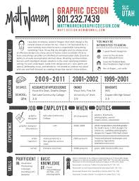 Sample Of Creative Graphic Design Resume Resume Cover Letter Example
