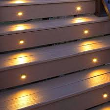 exterior step lights low voltage led outdoor lighting exterior stair riser lights deck step lights outdoor