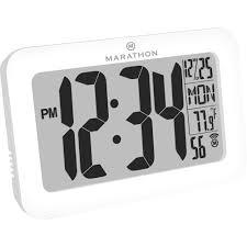marathon atomic clock digital battery
