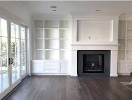 built in shelves around fireplace plans anhsau info