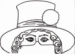 I Disegni Delle Maschere Di Carnevale Da Scaricare E Colorare