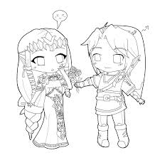 best of cute anime chibi coloring pages for kids womanmate