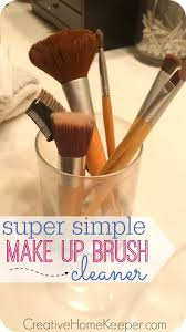 have you cleaned your makeup brushes recently this super simple makeup brush cleaner is easy