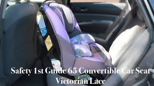 Chart Air 65 Convertible Car Seat Safety 1st Guide 65 Convertible Car Seat Victorian Lace How To Install