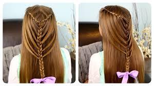 Hairstyle Waterfall waterfall twists into mermaid braid cute girls hairstyles youtube 7045 by stevesalt.us
