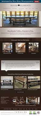 rustic elements furniture. Rustic Elements Furniture\u0027s Website Screenshot On Sep 2017 Rustic Elements Furniture N