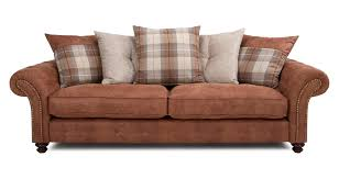 oakland  seater pillow back sofa  dfs