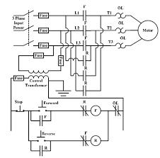 electric motor control in industrial plants electrical Autotransformer Motor Starter Wiring Diagram full voltage starter reversing autotransformer motor starter circuit diagram