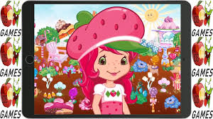 candy garden. Strawberry Shortcake Candy Garden Game For Kids | To Play S
