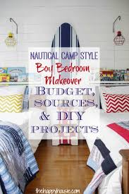 you won t believe the budget and the diy projects on this nautical camp