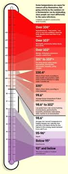 Childrens Temperature Chart Uk Metric Units Poster By