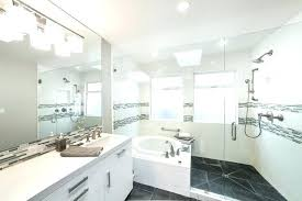 white bathroom lighting. White Bathroom Flooring Bathrooms With Grey Floors Sweet Transitional Gray Stone Tile Floor Lighting Effect U