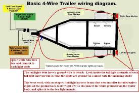 montana trailer light wiring diagram diagram wiring diagrams for 4 wire trailer wiring diagram troubleshooting at Basic Tail Light Wiring Diagram