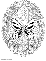 Coloring Pagesbutterfly Coloring Pages For Adults Coloring Pages