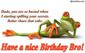 Funny Brother Quotes Classy Funny Birthday Quotes For Brothers With Images