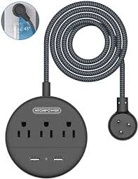 Braided Power Strip with USB - NTONPOWER Travel ... - Amazon.com