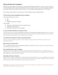 Resume Templates For Word 2013 Free Resume Templates Word Full Size