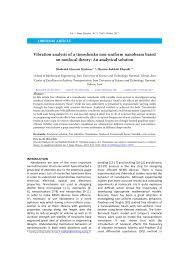 PDF) Vibration analysis of a timoshenko non-uniform nanobeam based ...