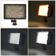 Video Camera Led Light Price In India 160 Led Cn 160 Dimmable Ultra High Power Panel Digital