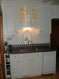 Over Kitchen Sink Light An Idea For Over Sink Shelf That Wont Interfere With New Lighting
