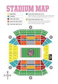 Citrus Bowl Seating Chart Seating Chart For Florida Citrus Bowl Stadium Ucf Football
