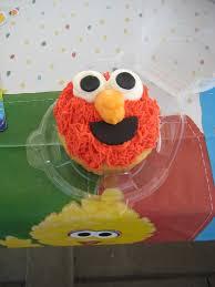 Sesame Street Cupcake Tower 1st Birthday Elmo Smash Cake Flickr