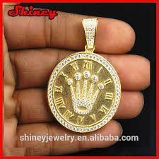 aaa cubic zirconia paved christ fashion jewelry whole hip hop bling jewelry