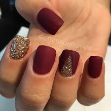 100 Most Popular Spring Nail Colors of 2017 | Matte nails, Gold ...