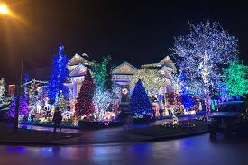 Best Holiday Light Displays Long Island Map Christmas Light Displays In Surrey Langley And Beyond